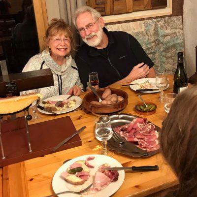 Cuisine/restaurant table raclette